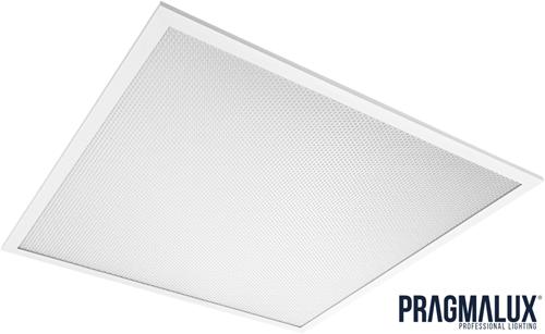 Pragmalux LED Paneel 60x60cm Essence G2 34W 4000K 4250lm UGR<19 +Driver (4x14W)