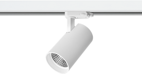 Pragmalux LED 3-Fase Railspot Piccolo 15W 2700K CRI>90 33D 1393lm Wit - Fase Dimbaar