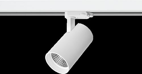 Pragmalux LED 3-Fase Railspot Piccolo 27W 3000K CRI>90 40D 2902lm Wit - Fase Dimbaar