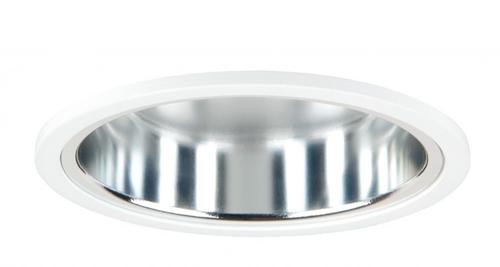 Pragmalux LED Downlight Mado 150 Hoogglans IP44 25W 3000K 2990lm Ø150 Buitenmaat - Gatmaat Ø135