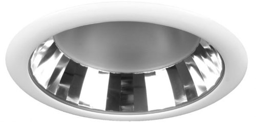 Pragmalux LED Downlight Lono 260 Facet IP40 12W 3000K 1755lm Ø260 Buitenmaat - Gatmaat Ø237 UGR<16