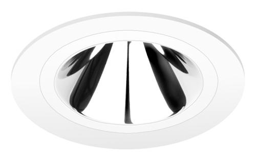 Pragmalux LED Downlight Mado 240 Darklight 18W 4000K 2612lm Ø240 Buitenmaat - Gatmaat Ø200