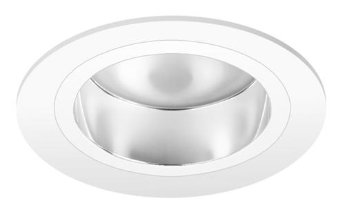 Pragmalux LED Downlight Mado 240 Hoogglans IP44 18W 3000K 2370lm Ø240 Buitenmaat - Gatmaat Ø200 UGR<19