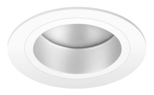 Pragmalux LED Downlight Mado 240 Mat IP44 18W 3000K 2160lm Ø240 Buitenmaat - Gatmaat Ø200 UGR<18