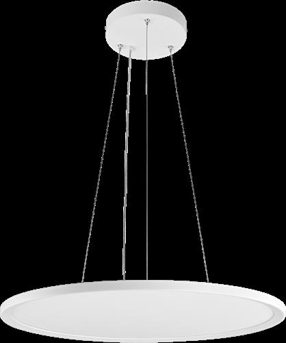 Pragmalux LED Pendelarmatuur Stello Ø610mm 58-29W 3000K 5600-2800lm Wit - DALI