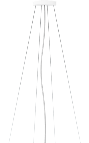 Pragmalux LED Opbouw-/pendelarmatuur Zalo Ø480mm & Ø600mm Pendelset Grijs