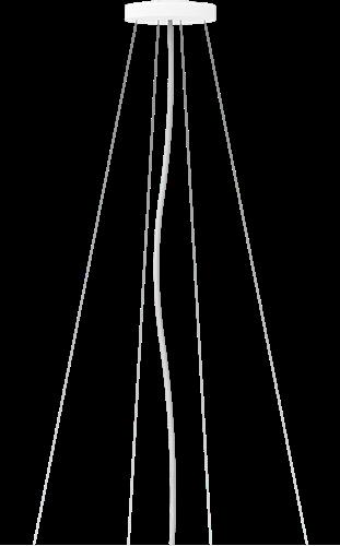 Pragmalux LED Opbouw-/pendelarmatuur Zalo Ø900mm Pendelset Grijs