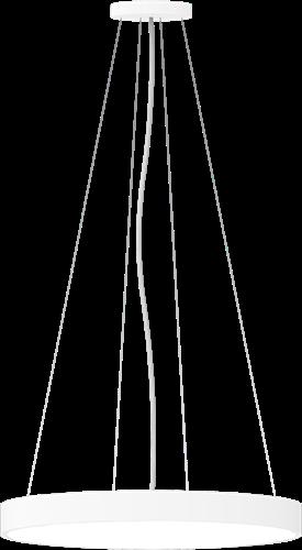 Pragmalux LED Opbouw-/pendelarmatuur Zalo Ø600mm 57W 3000K/3500K/4000K 5220lm/5540lm/5575lm Wit - DALI